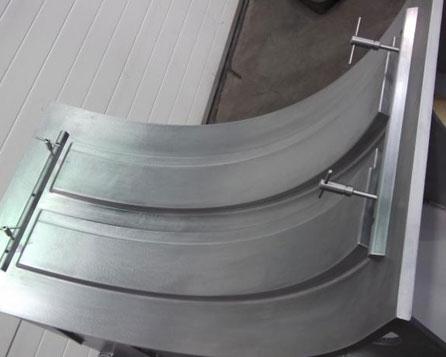 rotational mold machine